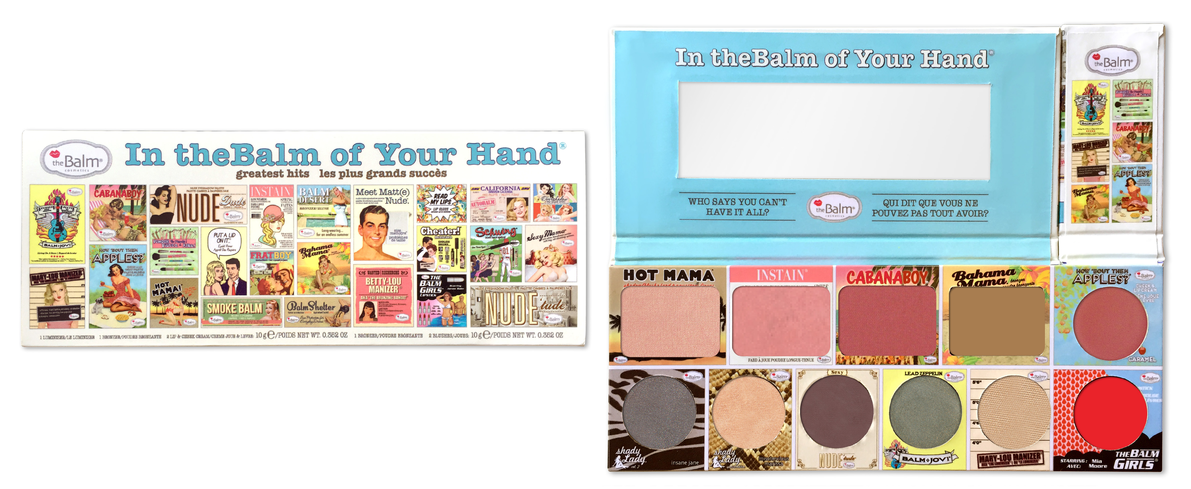In the Balms Of Your Hands In the Balm Of Your Hand Palette