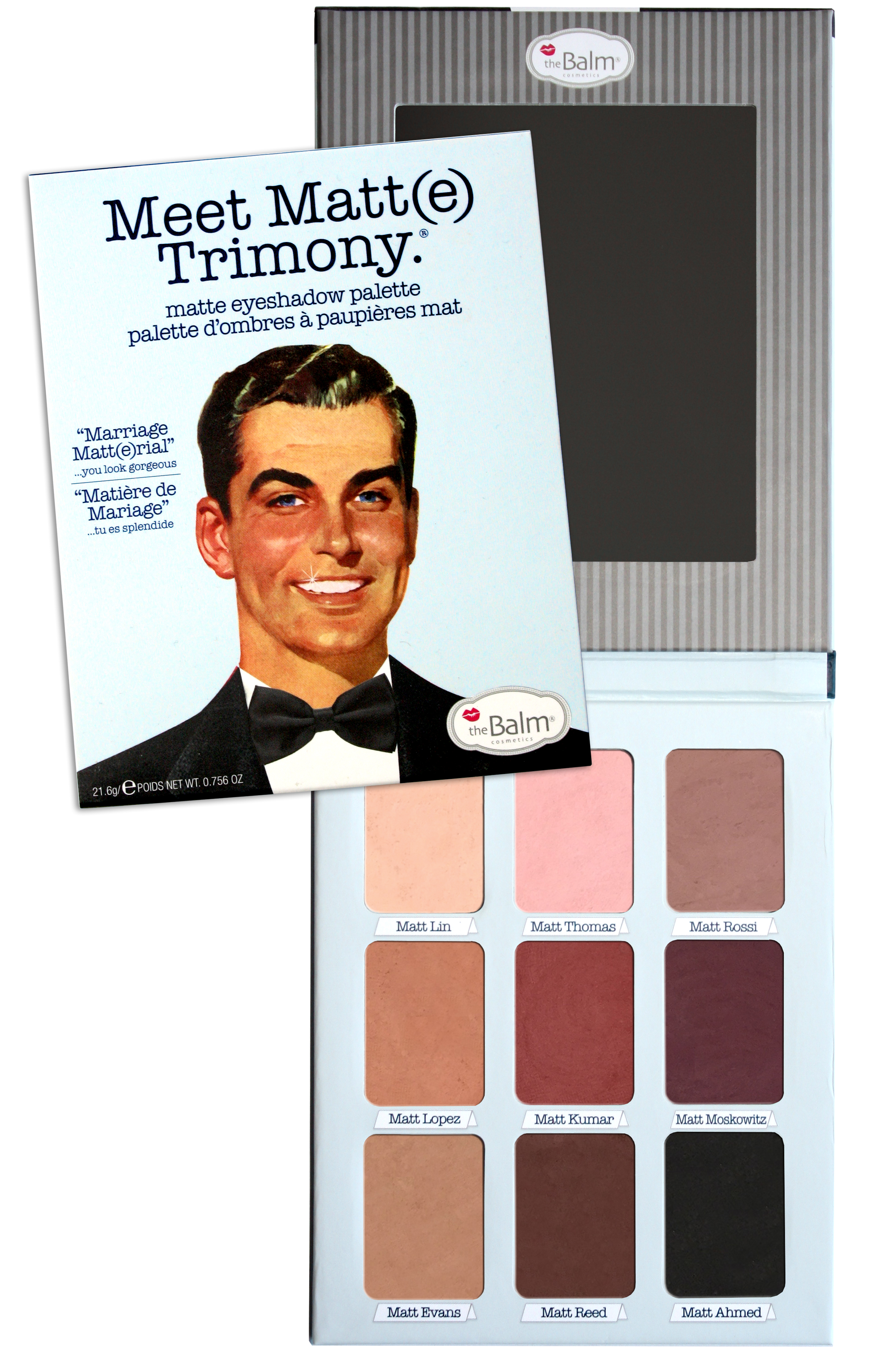 Meet Matte Eyeshadow Palette Trimony