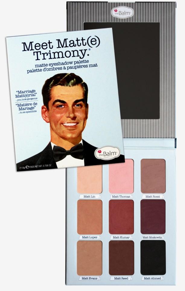 Meet Matte Eyeshadow Palette Trimony