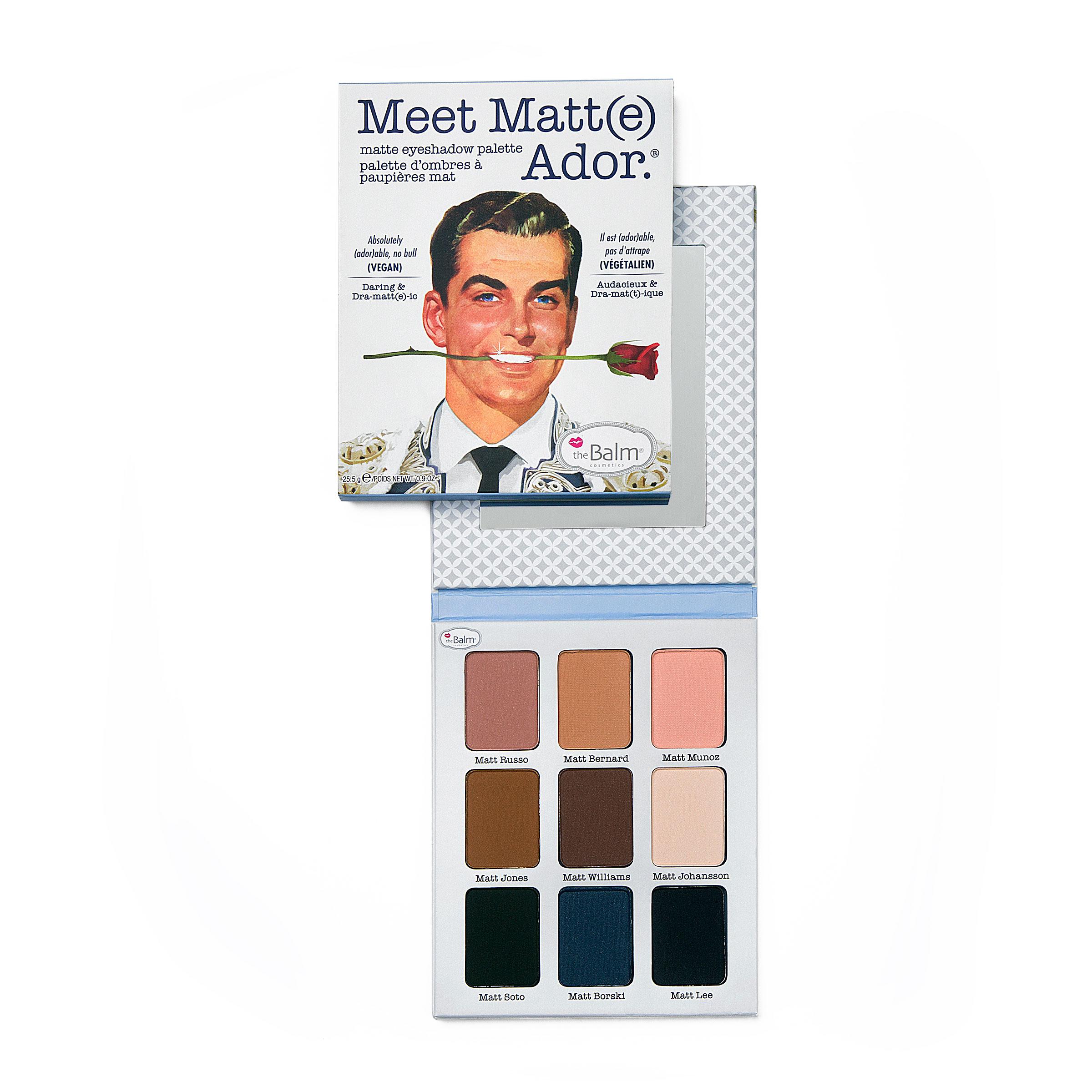 Meet Matte Eyeshadow Palette Adore