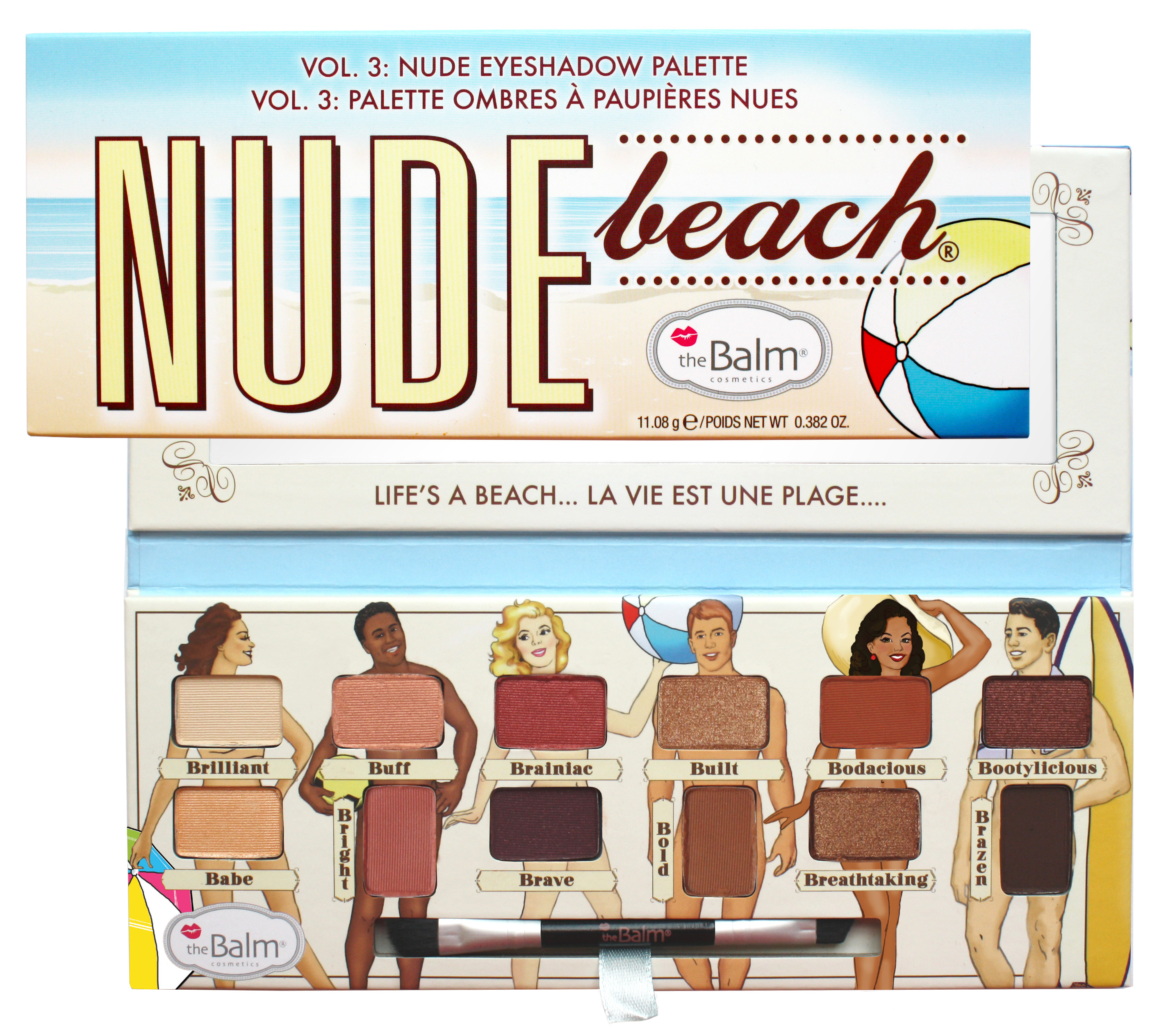 Nude Beach Eyeshadow Nude Beach Eyeshadow Palette