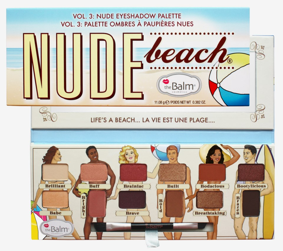 Nude Beach Eyeshadow Palette