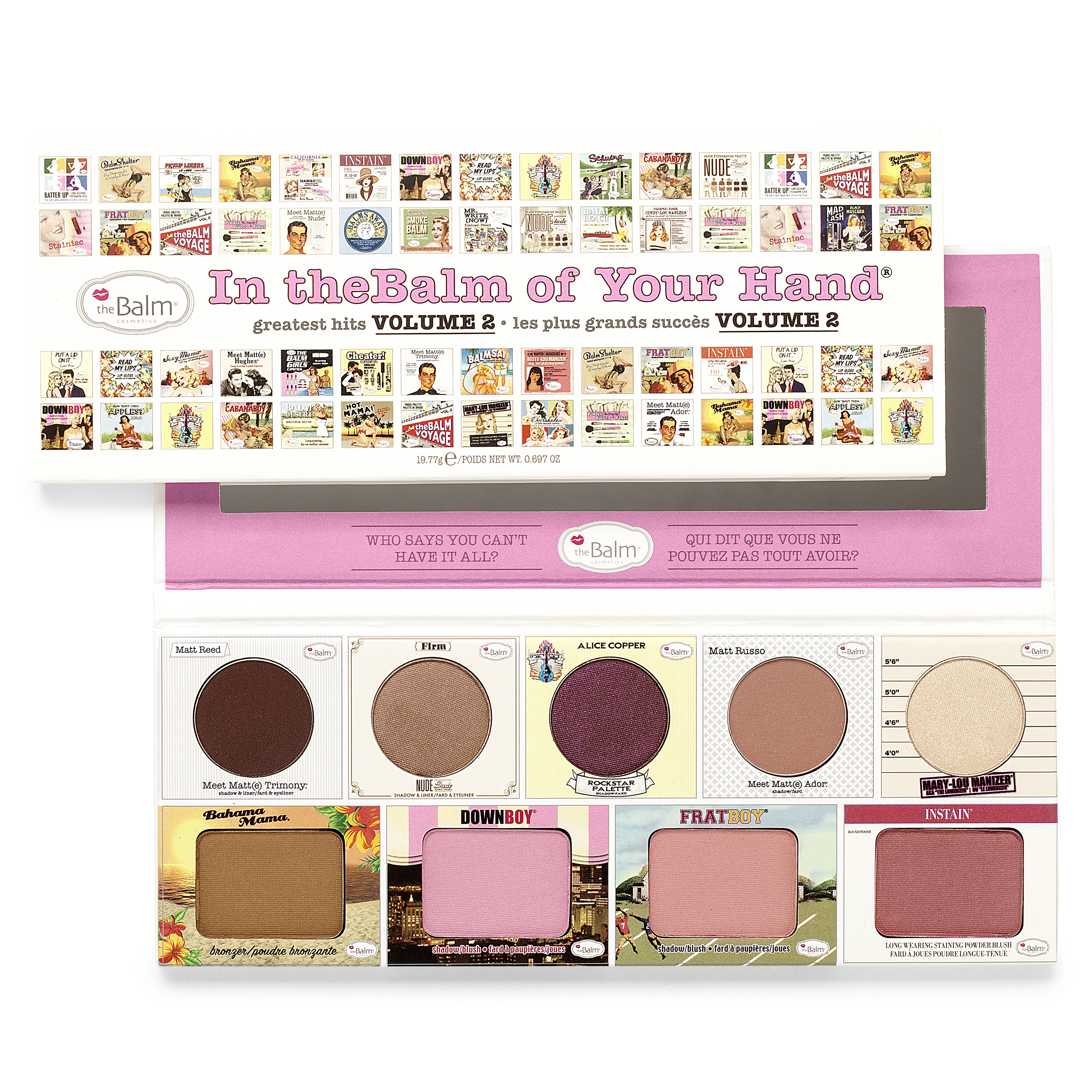 In the Balms Of Your Hands In The Balm Of Your Hand Palette Vol. 2