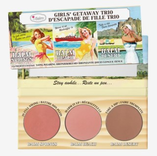 Balm Beach/Balm Springs Girls' Getaway Trio Bronzer & Blush