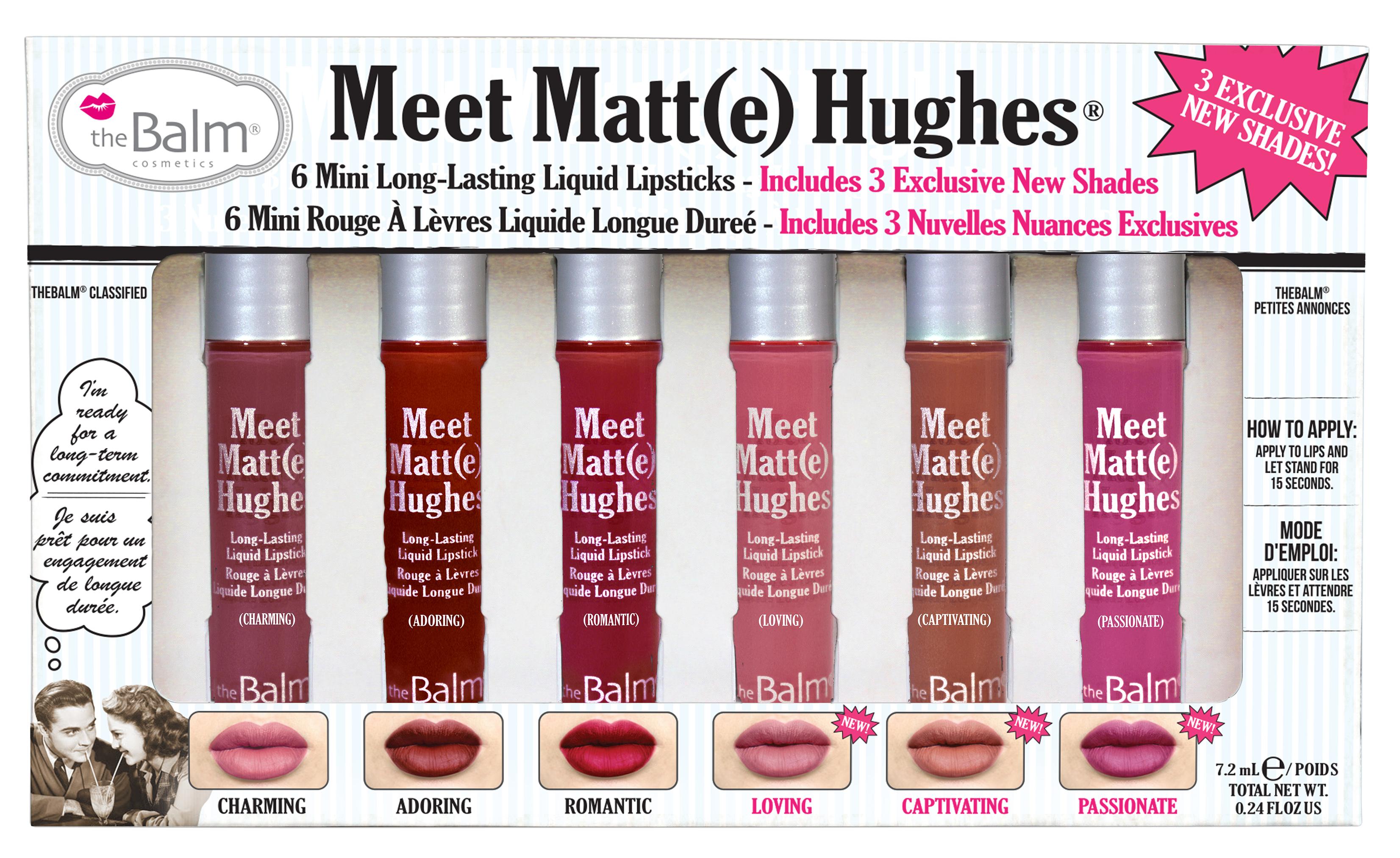 Meet Matte Hughes Vol 3 Meet Matte Hughes Liquid Lipsticks Vol.3