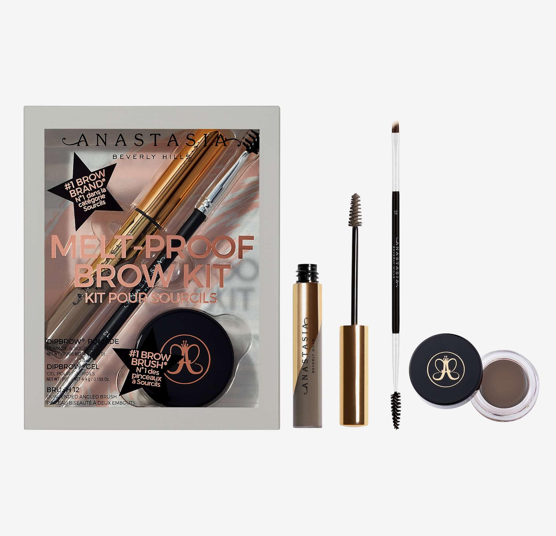 Melt-Proof Brow Kit Gift Box Taupe