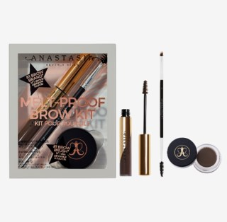 Melt-Proof Brow Kit Gift Box Dark Brown