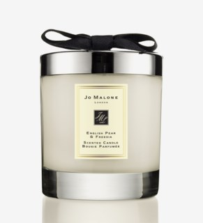 English Pear & Freesia Home Scented Candle