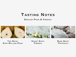 English Pear & Freesia Bath Oil 250ml