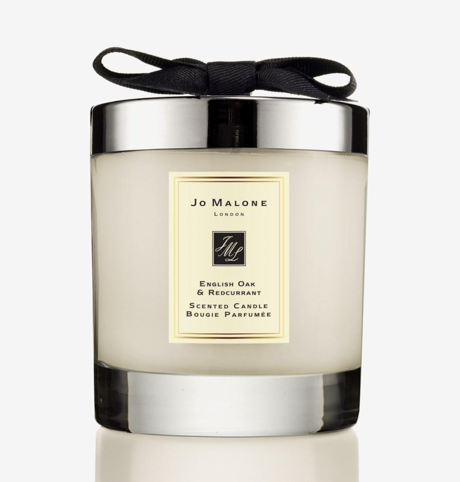 Oak & Hazelnut Home Candle