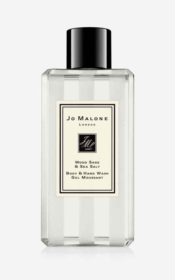 Wood Sage & Sea Salt Body & Hand Wash Jo Malone London Wood Sa 100ml