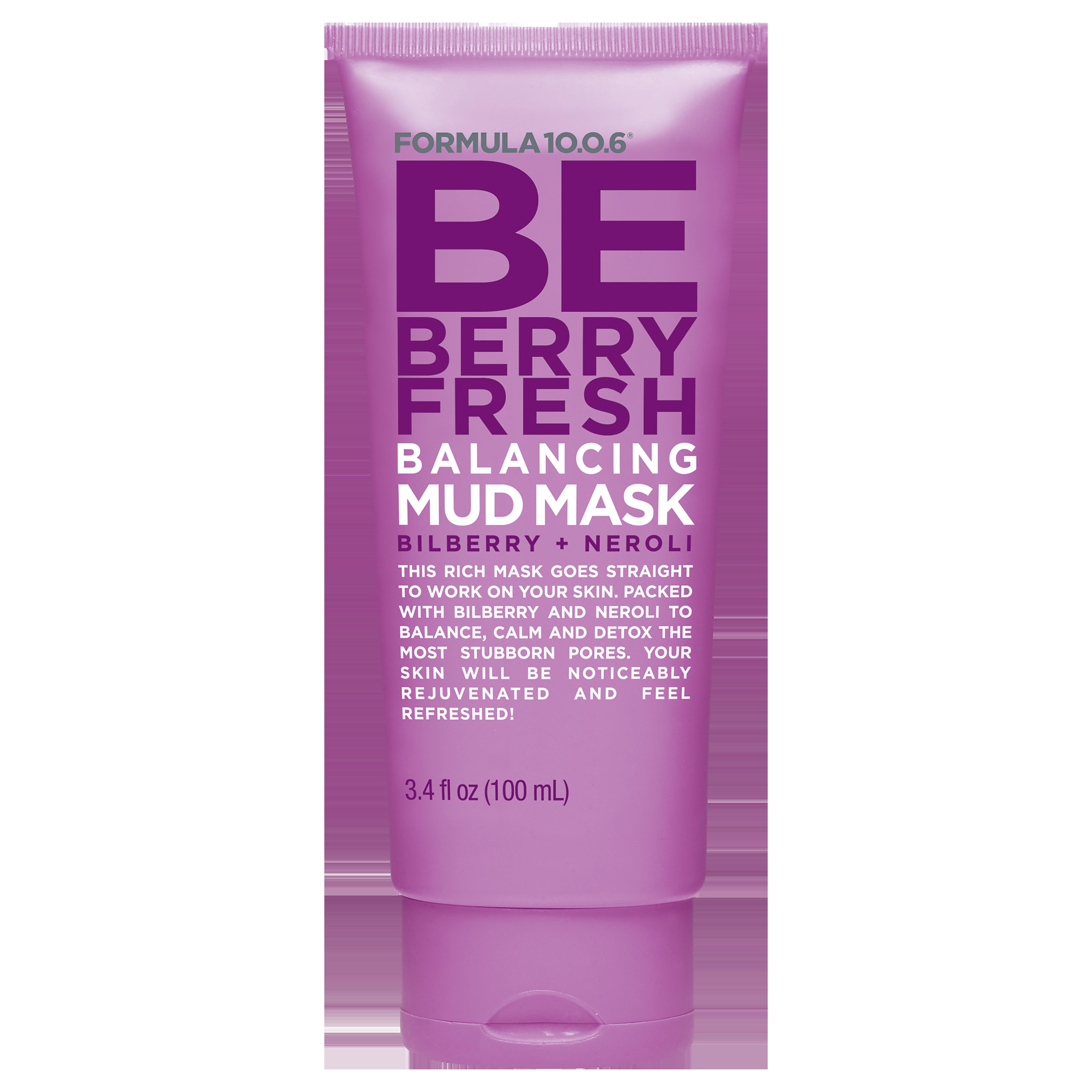 Be Berry Fresh Balancing Mud Mask 100ml