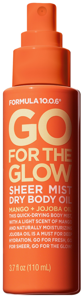 Go For The Glow Sheer Mist Dry Body Oil 110ml
