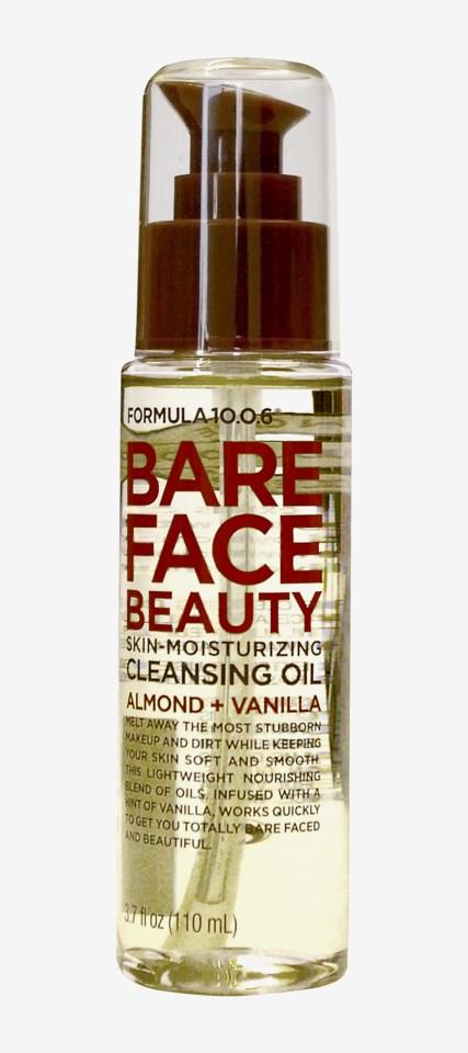 Bare Face Beauty Skin-Moisturizing Cleansing Oil 110ml