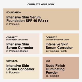 Intensive Skin Serum SPF 40 Foundation 02Porcelain