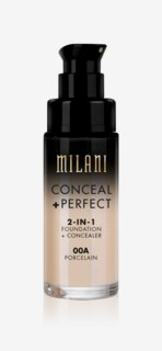 Conceal + Perfect Liquid Foundation 00A Porcelain