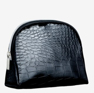 Croco Black Large