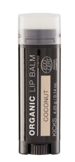 Certified Organic Lip Balm Tinted Coconut