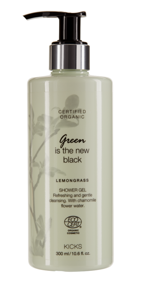 Certified Organic Lemongrass Shower Gel