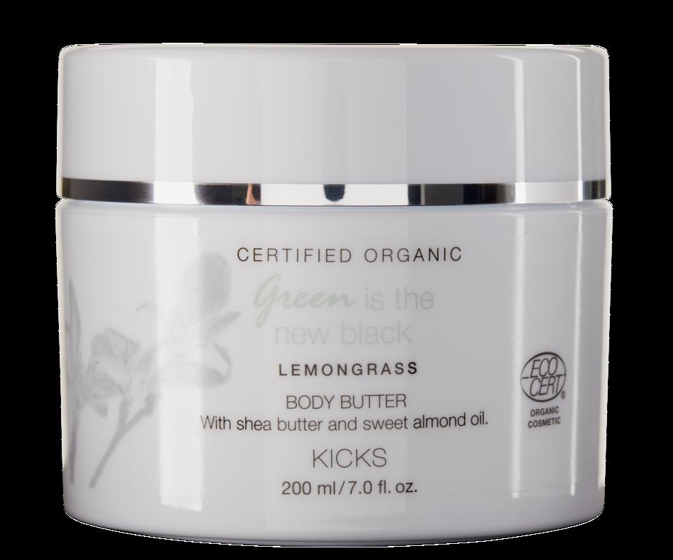 Certified Organic Lemongrass Body Butter