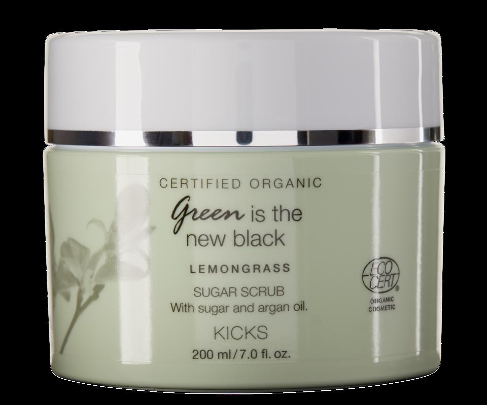 Certified Organic Lemongrass Sugar Scrub