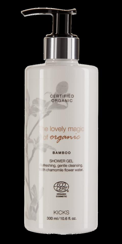 Certified Organic Bamboo Shower Gel