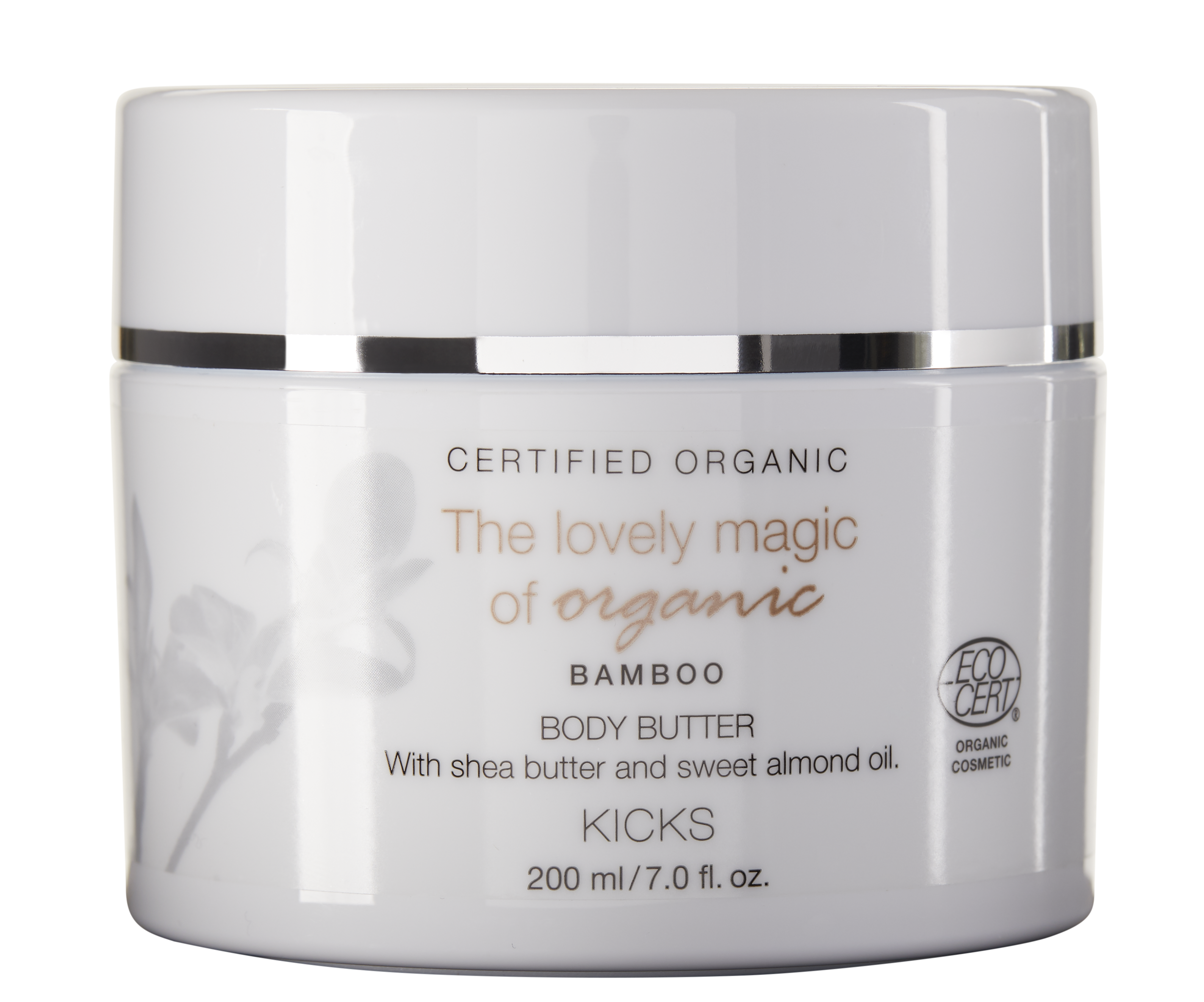 Certified Organic Bamboo Body Butter