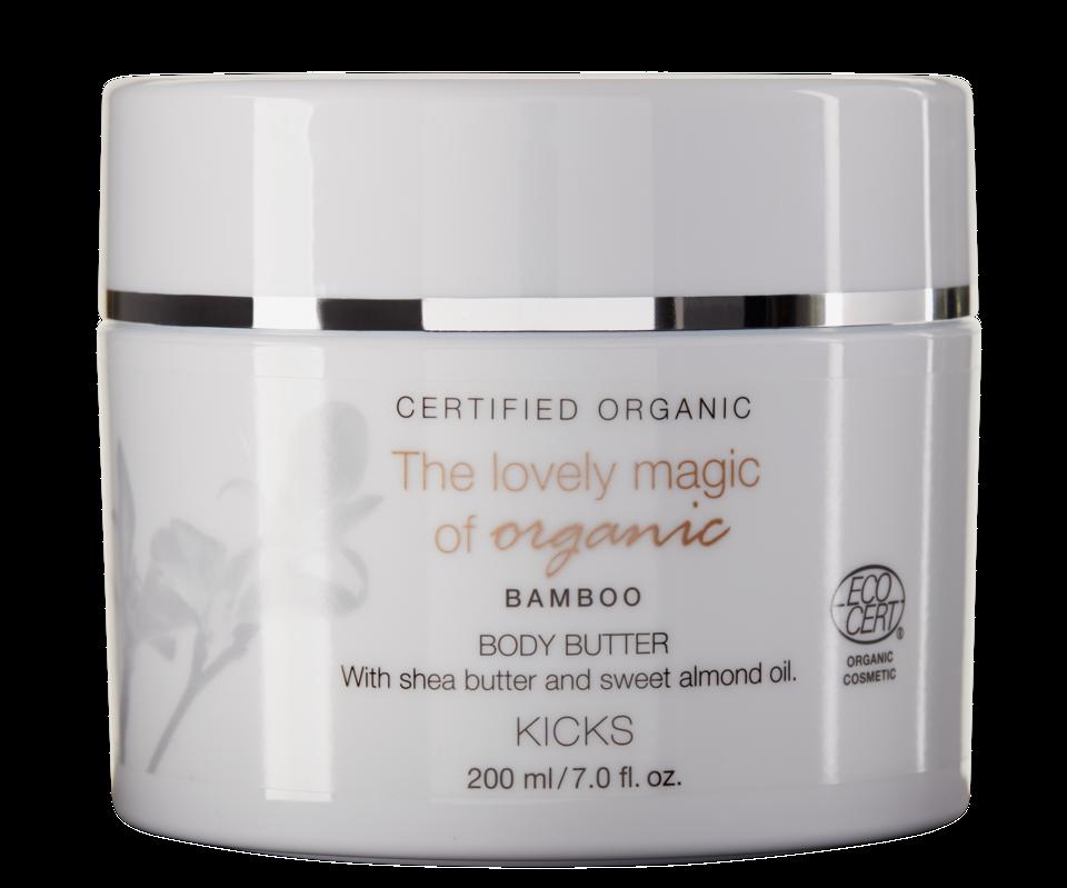 Certified Organic Bamboo Body Butter