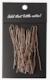 U Hair Pins 20-P Brown