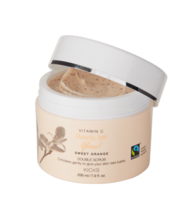 Vitamin C Sweet Orange Double Scrub