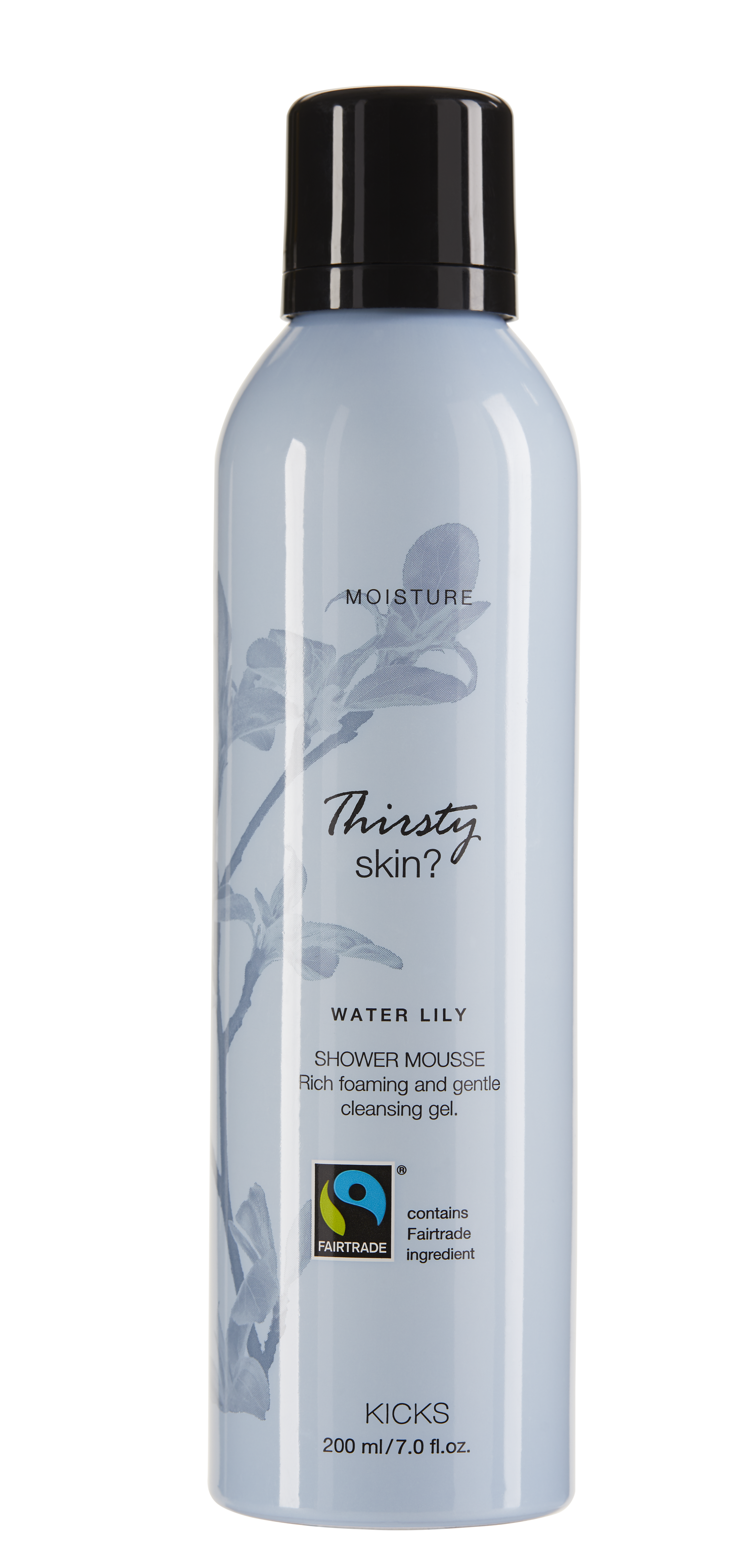 Moisture Water Lily Shower Mousse 200ML