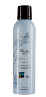 Moisture Water Lily Shower Mousse