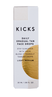 Daily Gradual Tan Face Drops Light/Medium, 30 ml