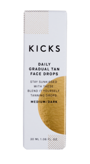 Daily Gradual Tan Face Drops Medium/Dark, 30ml