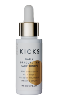 Daily Gradual Tan Face Drops Medium/Dark, 30 ml