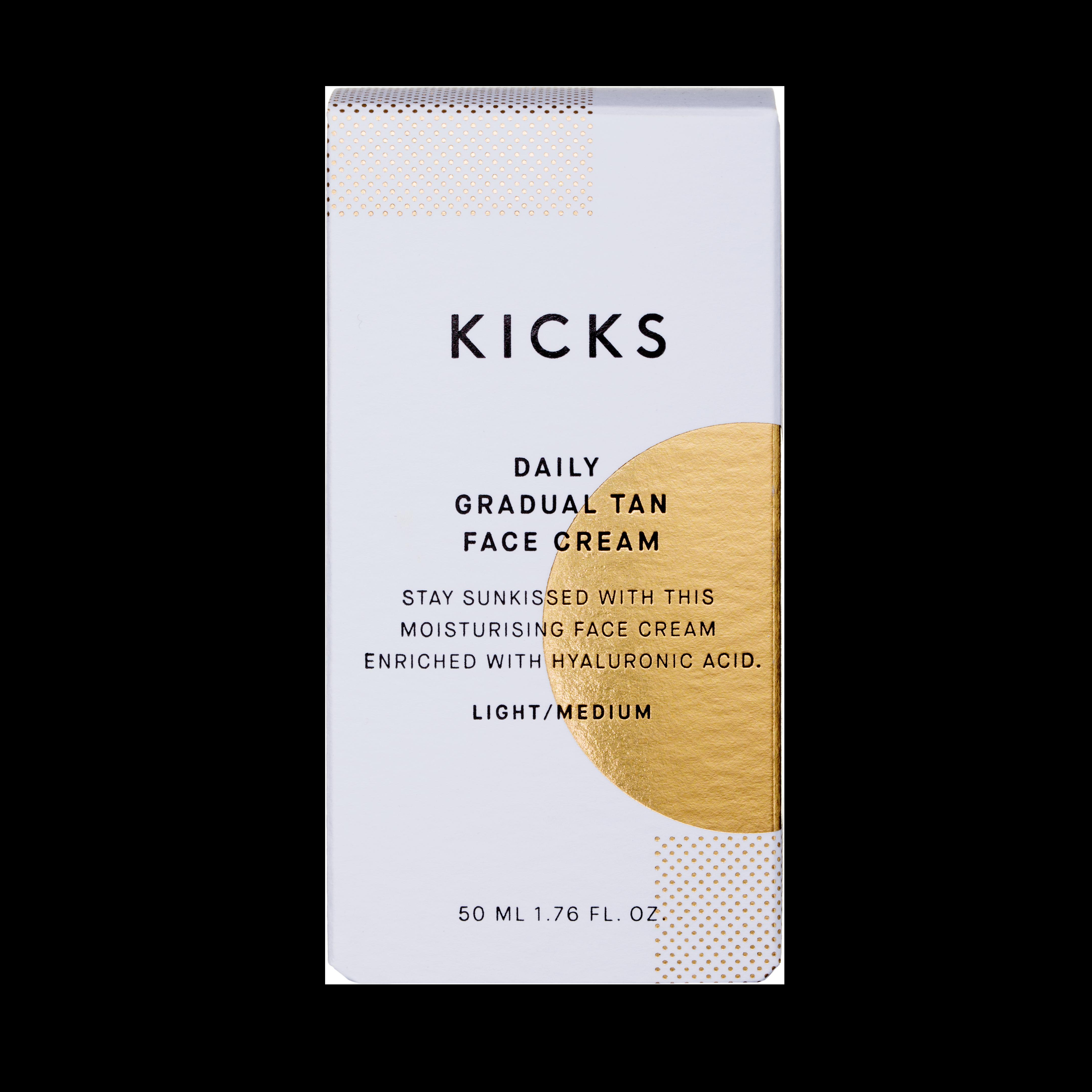 Daily Gradual Tan Face Cream Light/Medium, 50ml