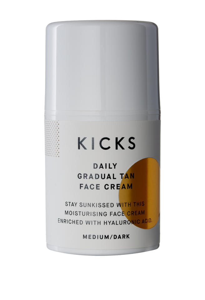 Daily Gradual Tan Face Cream Medium/Dark, 50 ml