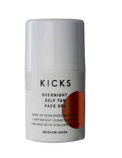 Overnight Self Tan Face Gel Medium/Dark, 50 ml