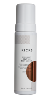 Overnight Self Tan Body Mousse Light/Medium, 200 ml