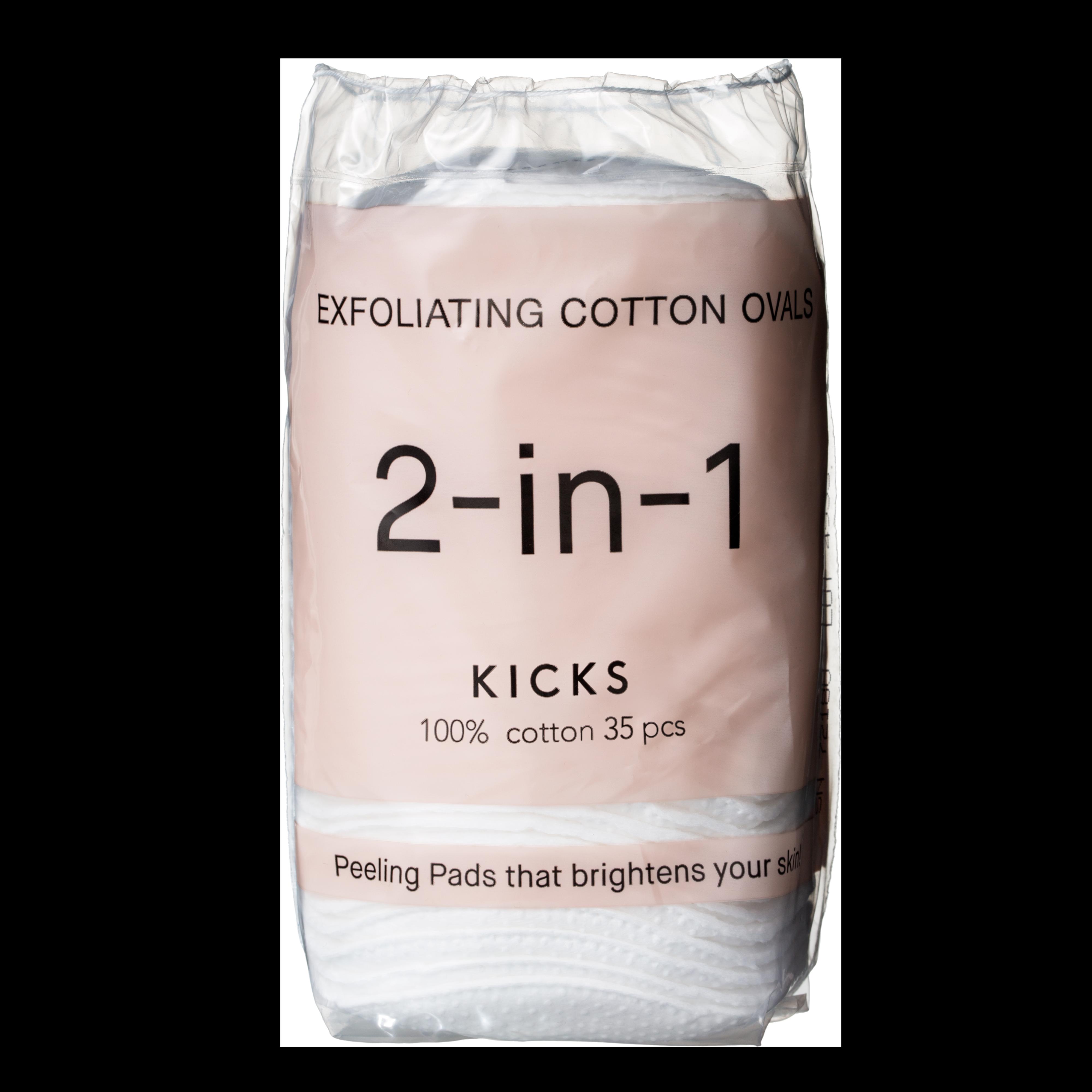 Exfoliating Cotton Ovals 35pcs