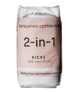 Exfoliating Cotton Ovals 35 pcs