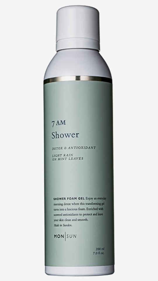 7AM Shower Detox & Antioxidant Shower Gel 200 ml