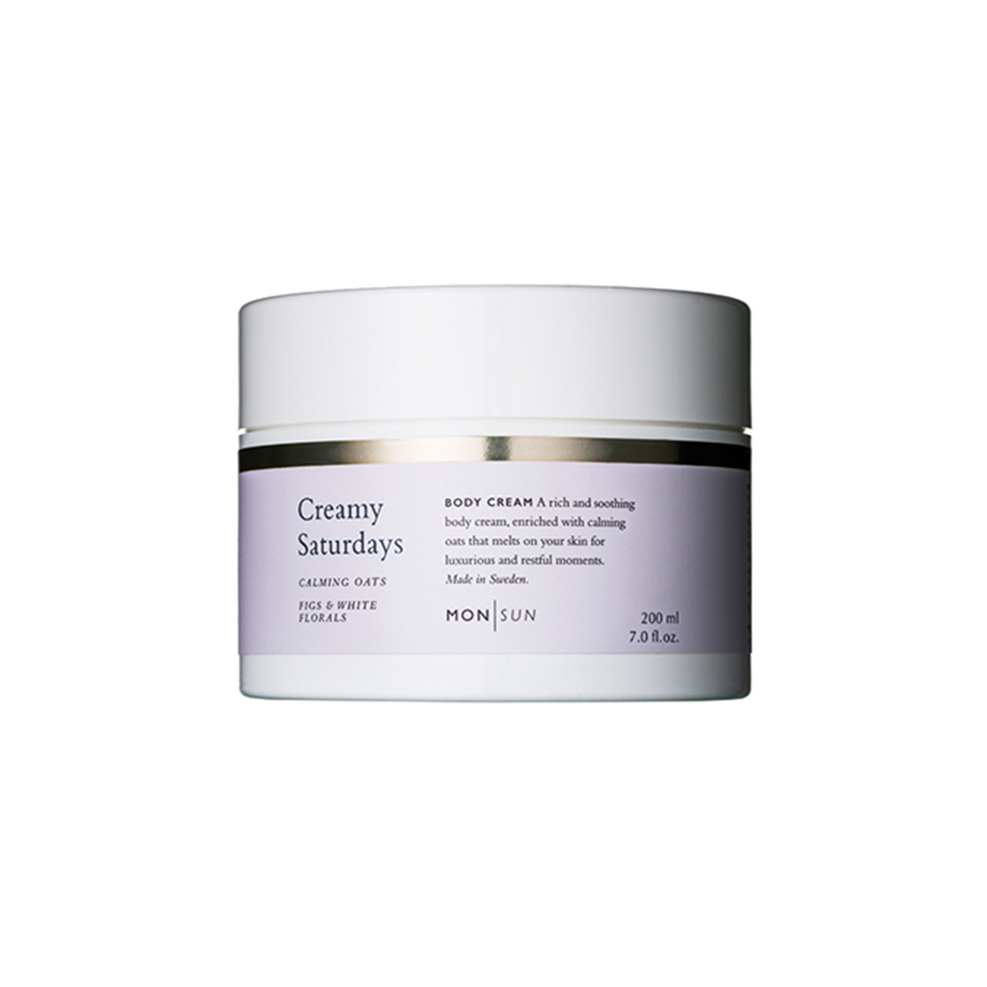 Creamy Saturdays Calming Oats Body Cream 200 ml