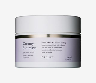Creamy Saturdays Calming Oats Body Cream