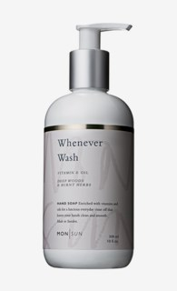 Whenever Wash Vitamin & Oil Hand Soap 300 ml
