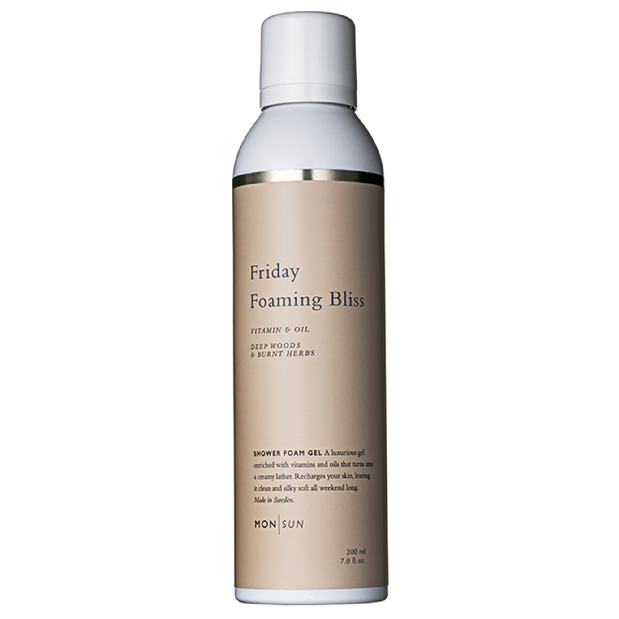 Friday Foaming Bliss Vitamin & Oil Shower Gel 200ml