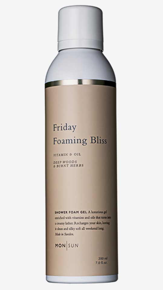 Friday Foaming Bliss Vitamin & Oil Shower Gel 200 ml