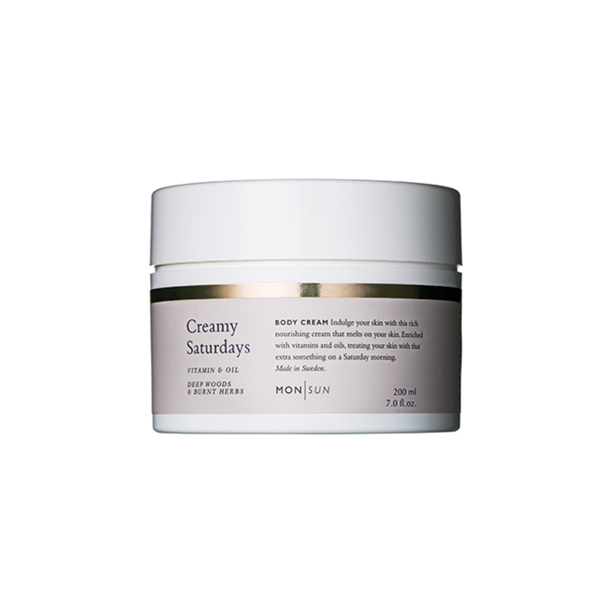 Creamy Saturdays Vitamin & Oil Body Cream