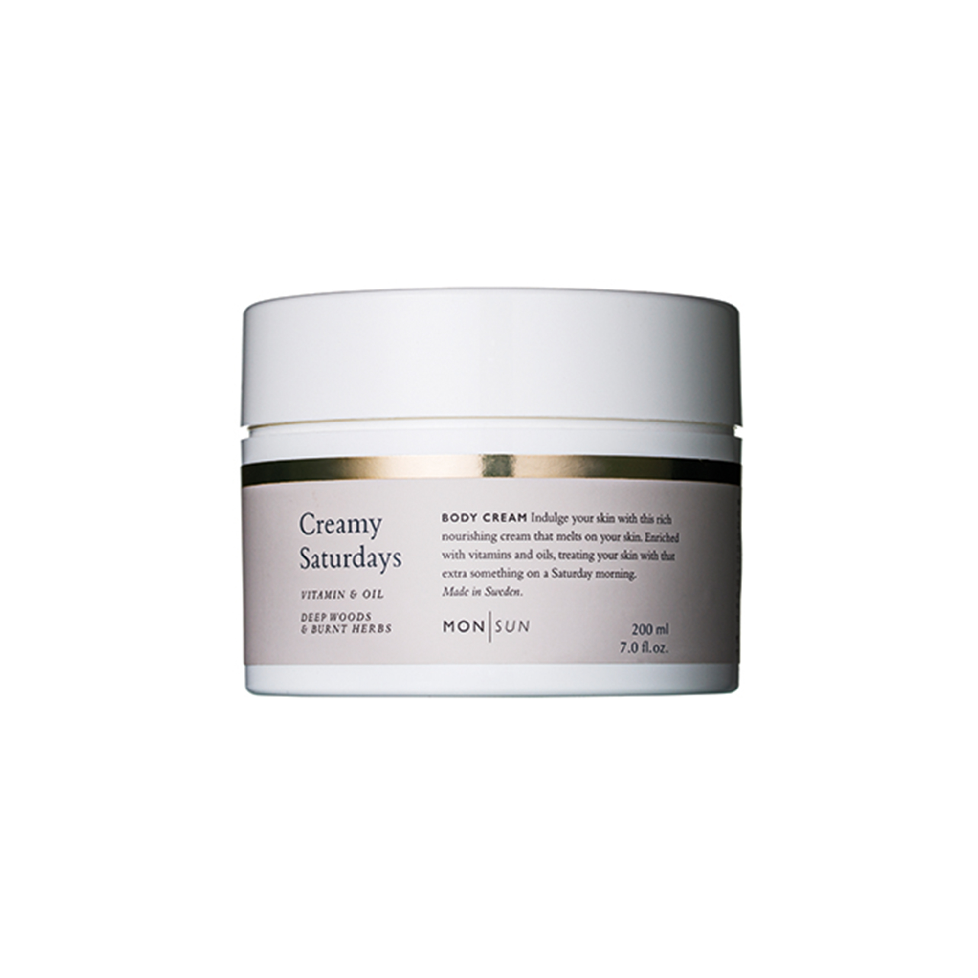 Creamy Saturdays Vitamin & Oil Body Cream