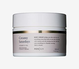 Creamy Saturdays Vitamin & Oil Body Cream 200 ml